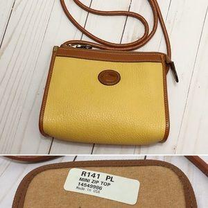 Dooney & Bourke Vintage Palomino Mini Zip Top R141